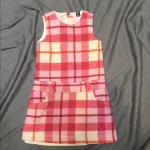 Pink Plaid Dress 5T